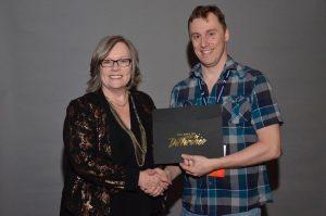 Kerryleegh Hildebrandtt RMT 25 year membership Award